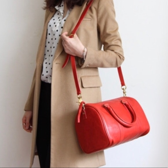 Clare Vivier Handbags - 🎉FINAL $ DROP 🎉❤️Clare V. Petit Duffle in Red ❤️